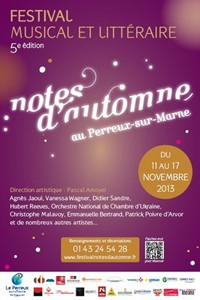 Concert Barbara Hendricks Notes d'Automne